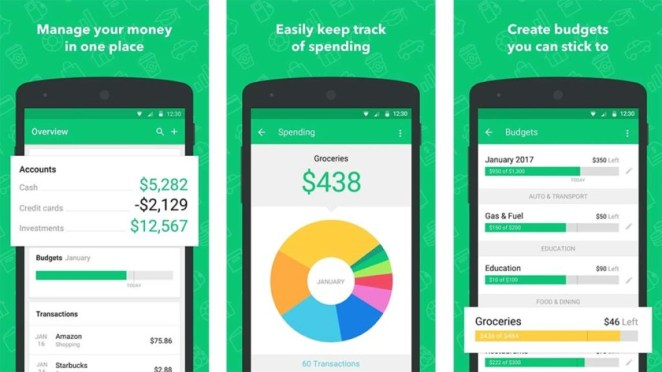 Mint - best budget apps for android