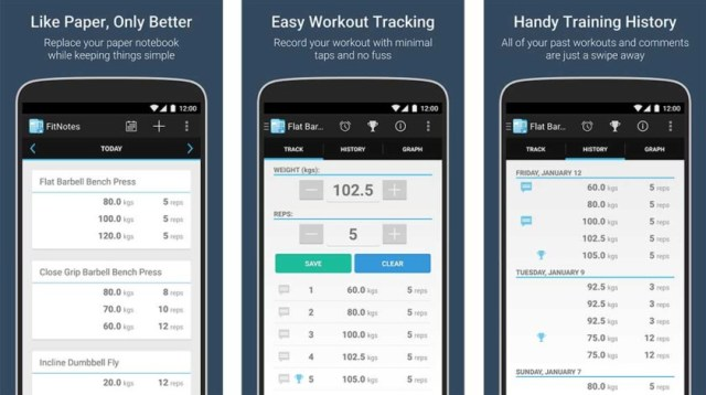 Aplikasi Binaraga dan Aplikasi Latihan Kekuatan untuk Android
