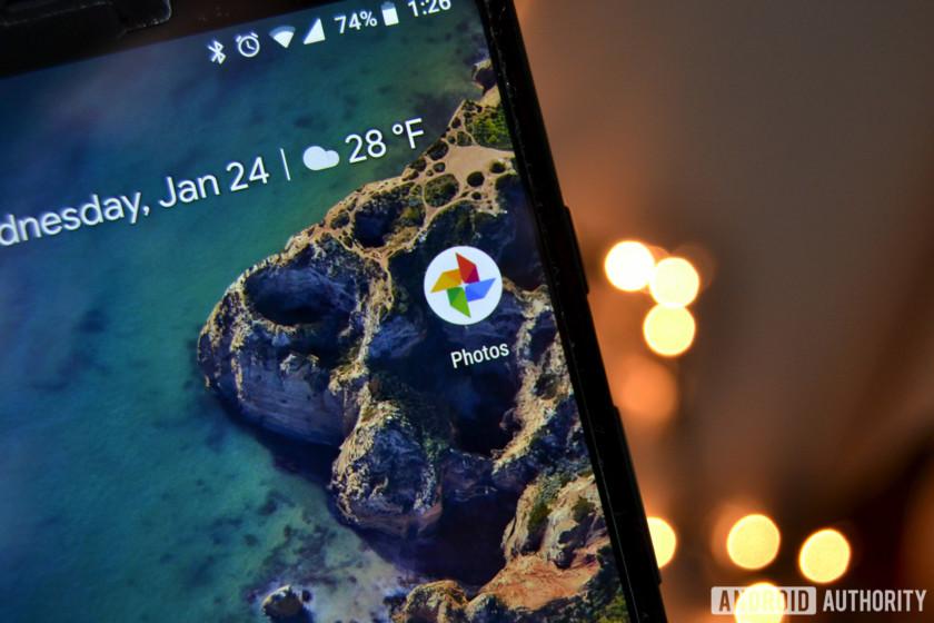 The Google Photos app icon.