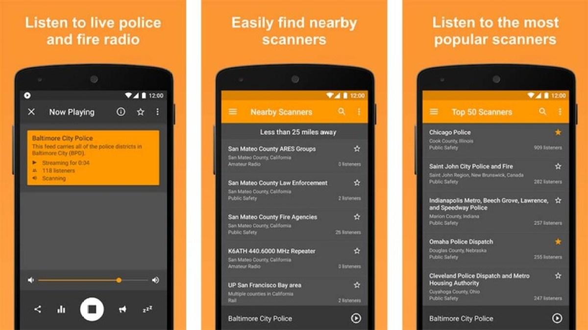 Rádio Scanner - melhores aplicativos de scanner policial