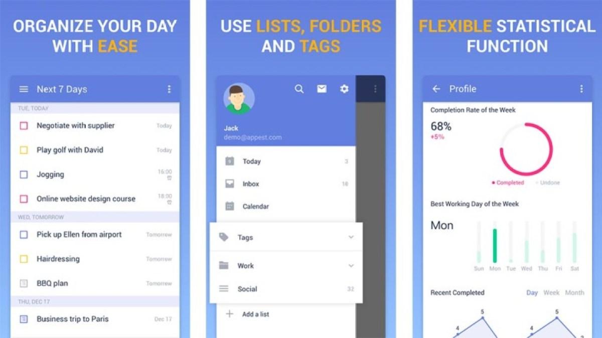 TickTick является одним из лучших виджетов Android