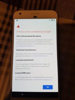 uncertified google apps