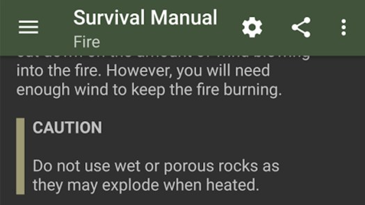 best survival apps for android