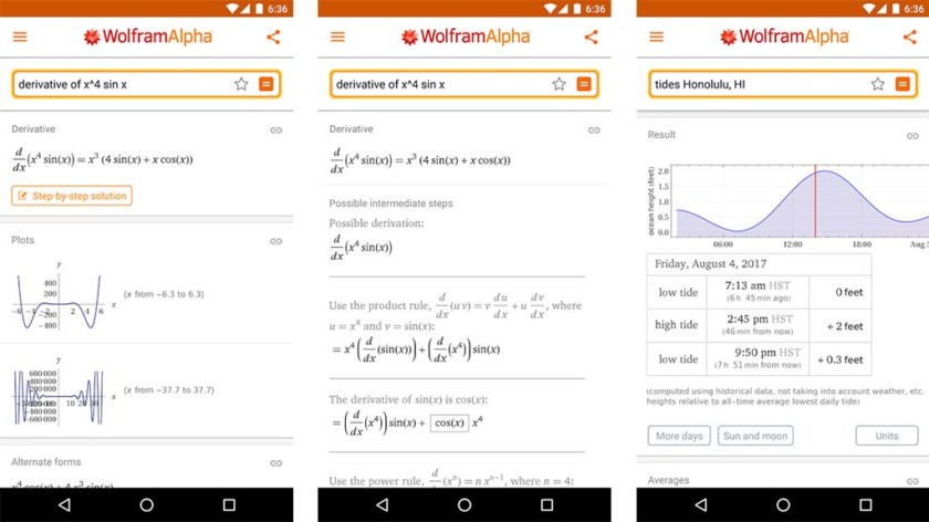 Wolfram math apps