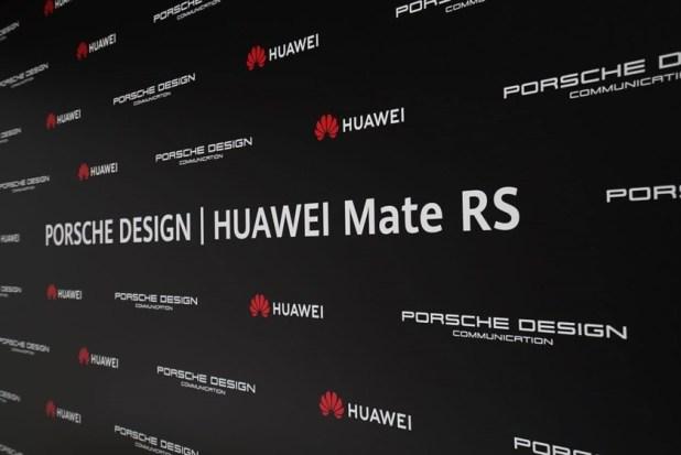 Huawei Porsche Design Mate RS promo materials