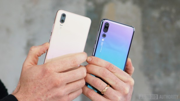 Huawei P20 and P20 Pro side by side - Huawei P30 and P30 Pro rumors