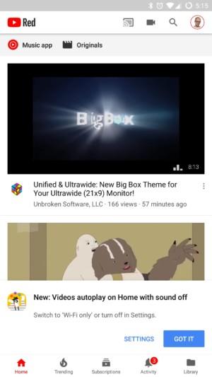 turn off youtube autoplay