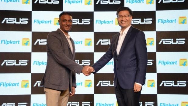 asus flipkart e-commerce partnership