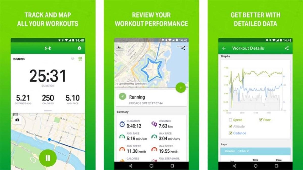 Endomondo - best running apps for android