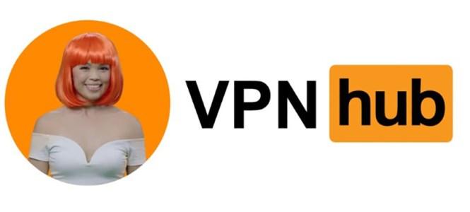 The logo of VPNHub, the new VPN service from PornHub.