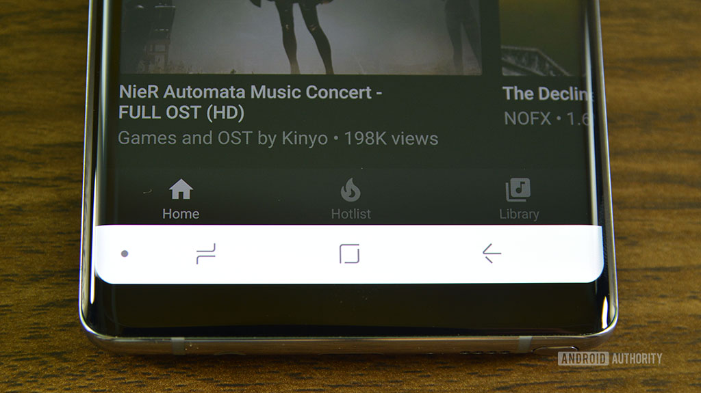 YouTube Music hands on - nav bar