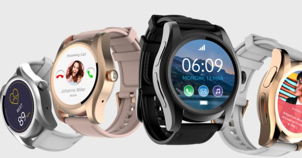 The Blu X Link Smartwatch.