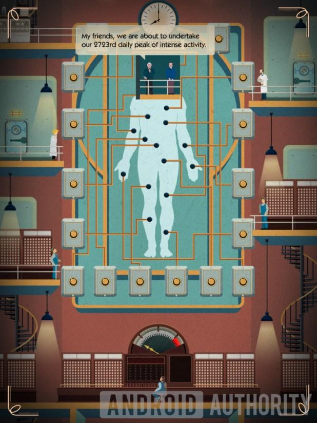 homo machina nerve center puzzle