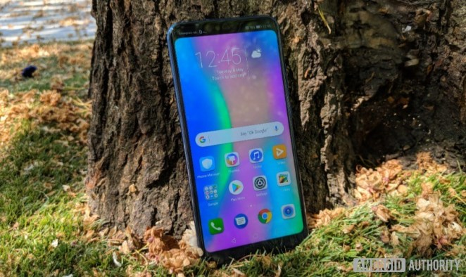 Honor 10 front no notch