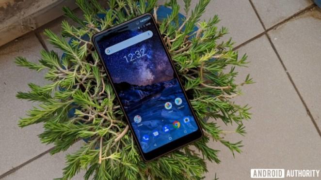 Nokia 7 plus display
