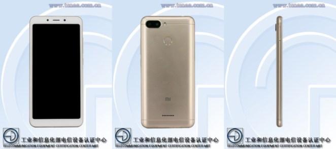 Xiaomi Redmi phone on TENAA