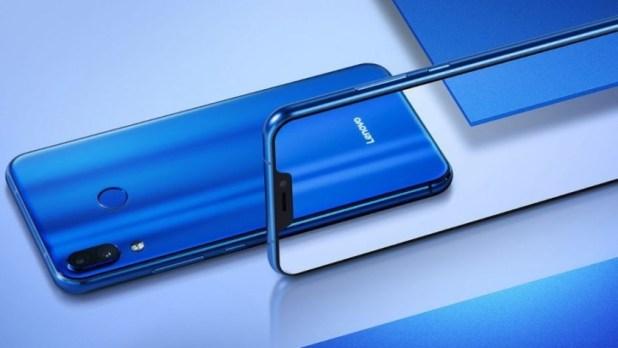 Lenovo Z5 smartphone promo image