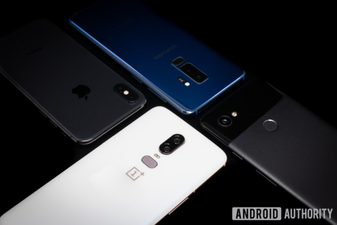 OnePlus 6 vs iPhone X vs Galaxy S9 vs Pixel 2 XL