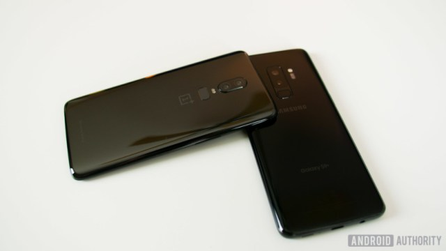 OnePlus 6 vs Samsung Galaxy S9
