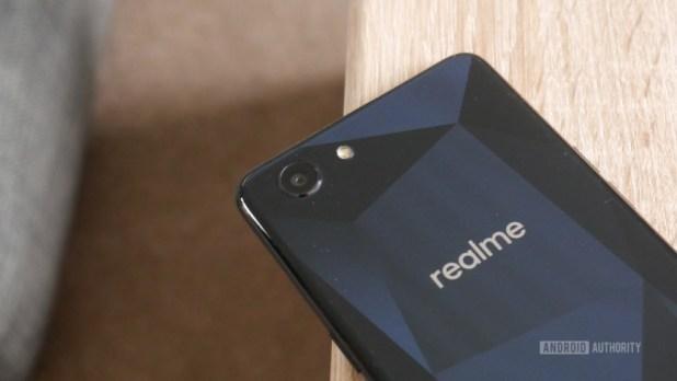 The Realme 1 smartphone.