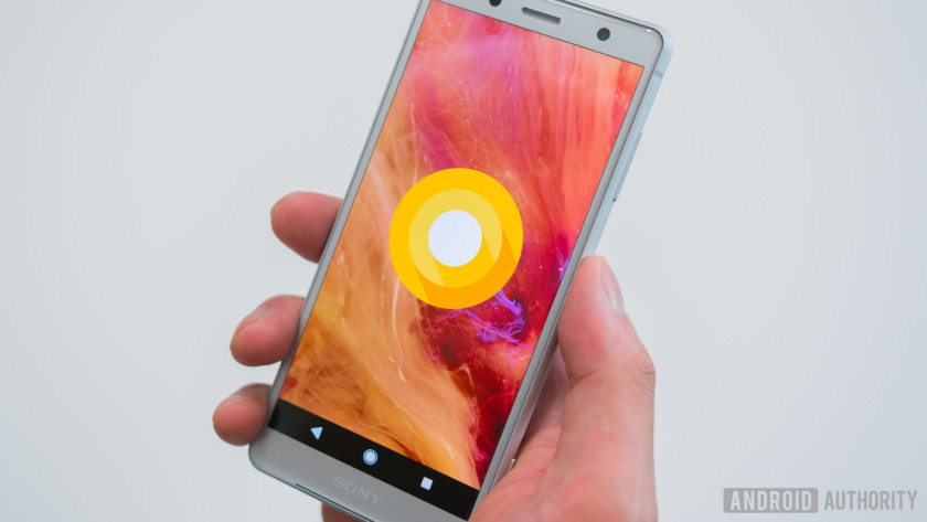 Sony Xperia XZ2 Compact software