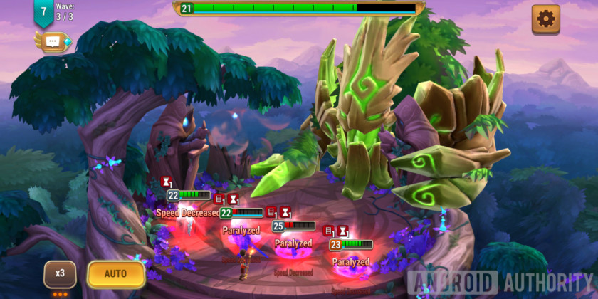 might & magic elemental guardians battle debuffs combat
