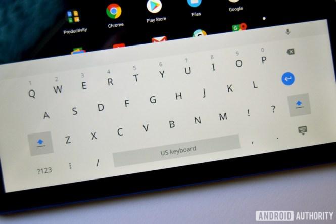 chromebook tab 10 review keyboard
