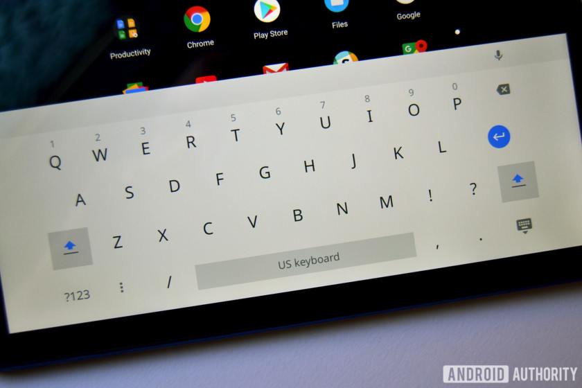 chromebook tab 10 review keyboard