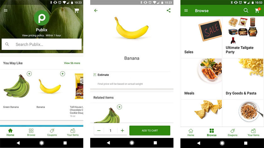 Individual store delivery apps