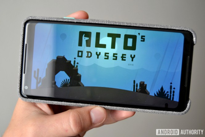 alto's odyssey android game pixel 2 xl