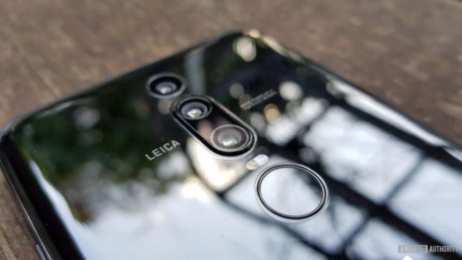 Porsche Design Huawei Mate RS rear fingerprint scanner