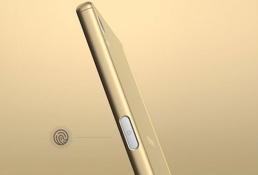 Sony's Xperia Z5 with the side-fingerprint scanner