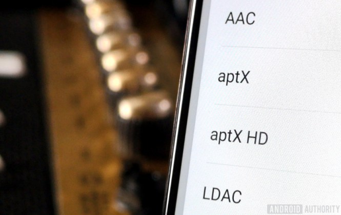 List of smartphone bluetooth audio codecs, not including aptX adaptive