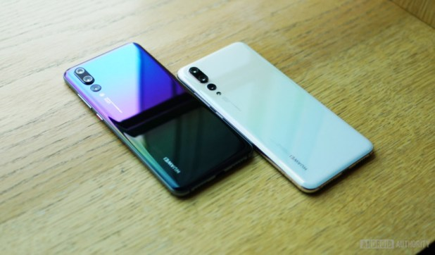 Colors schemes for the Huawei P20 Pro - Huawei P30 and P30 Pro rumors