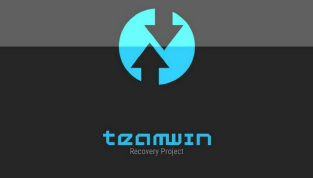 The logo for TeamWin Recovery Project (TWRP)