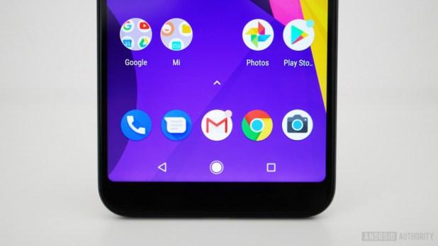 Xiaomi Mi A2 app dock