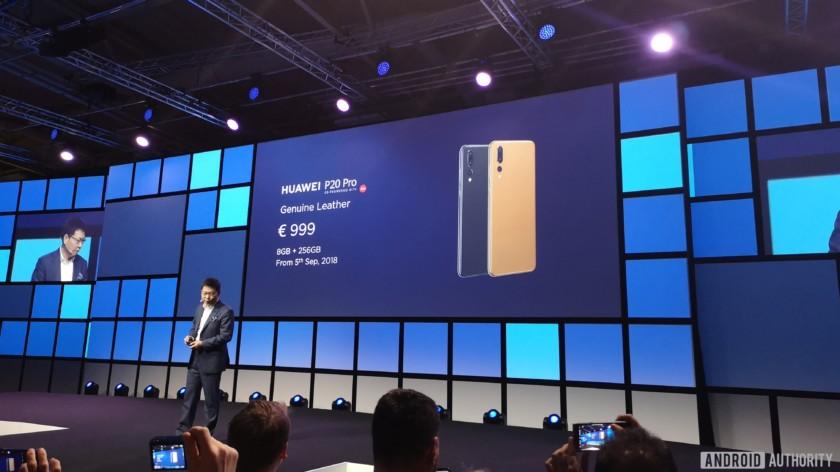 Huawei P20 Pro launch