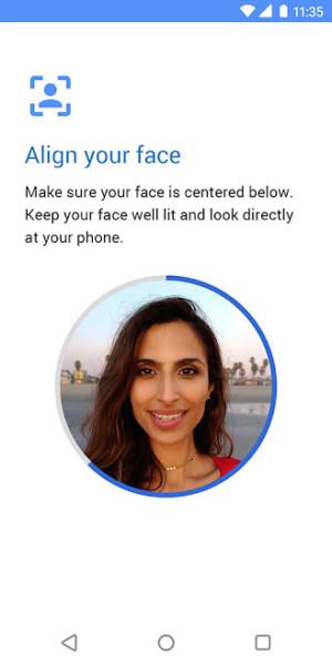 Moto Face Unlock.