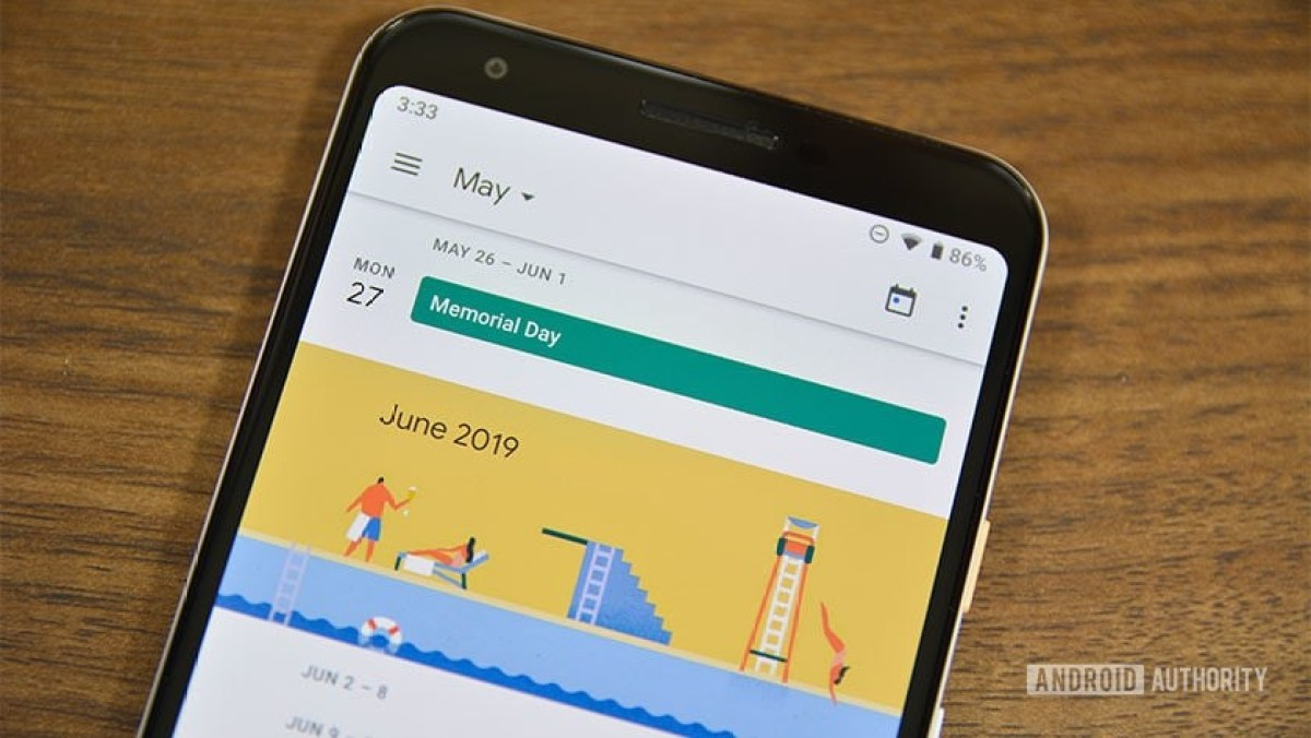 A photo of Google Calendar, one of the best calendar apps for Android.