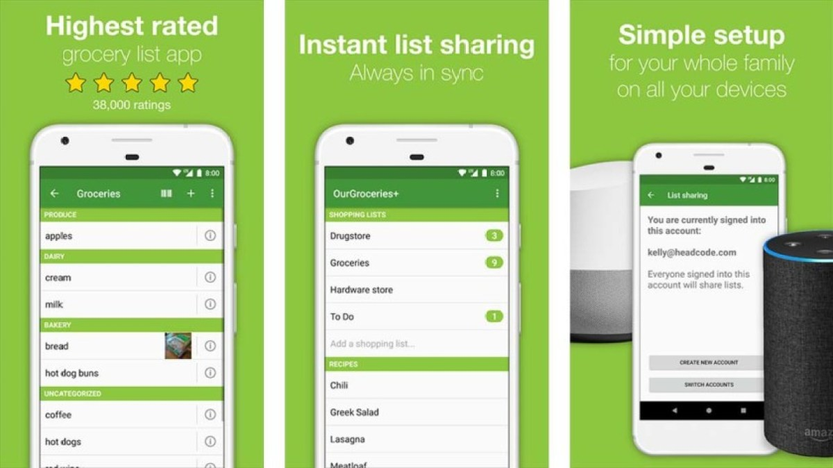 Our Groceries - best grocery list apps