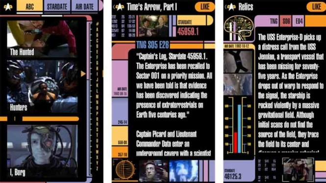 Trek Episode Guide