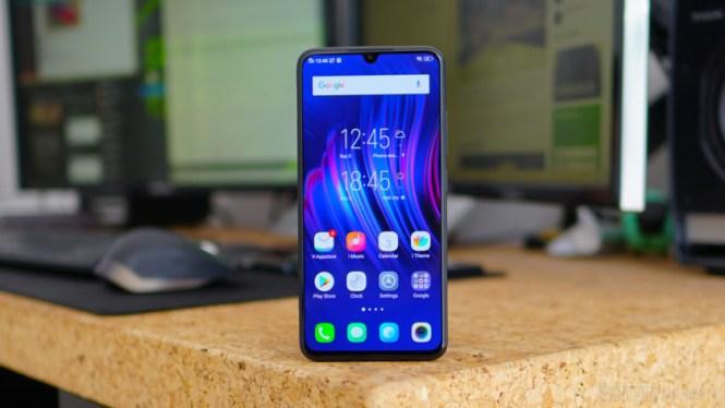 Vivo V11 review - home screen
