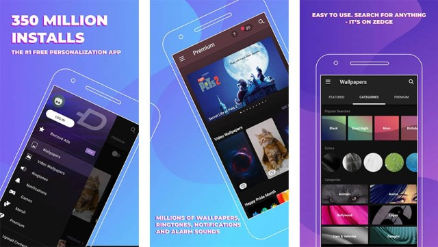 Zedge is one of the best thanksgiving apps for android