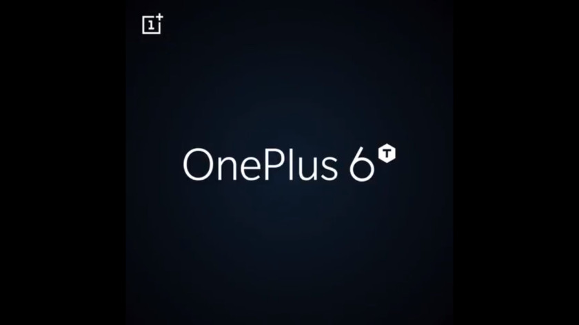 A screengrab from a OnePlus 6T teaser video.