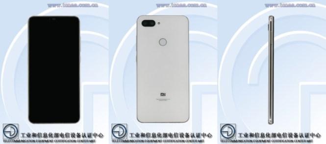 Photos of a possible Xiaomi Mi 8 variant.