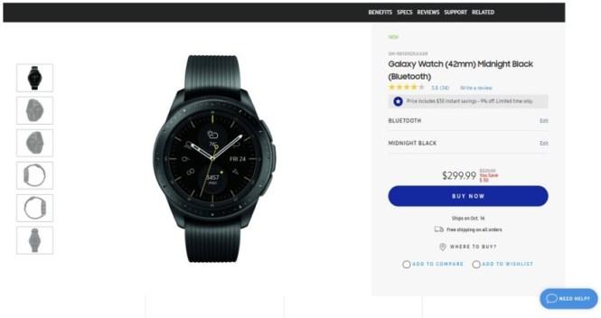 Galaxy Watch deal