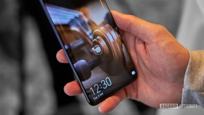 Huawei Mate 20 fingerprint reader