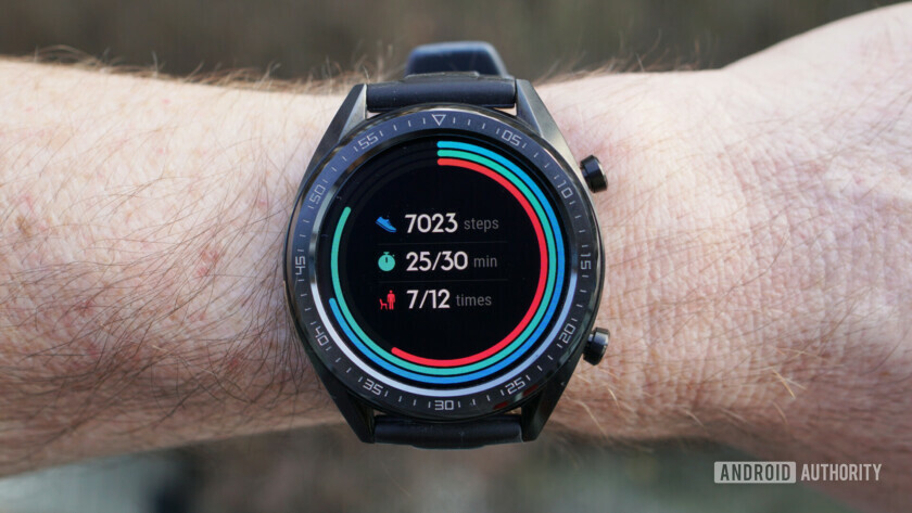 Huawei Watch GT dashboard