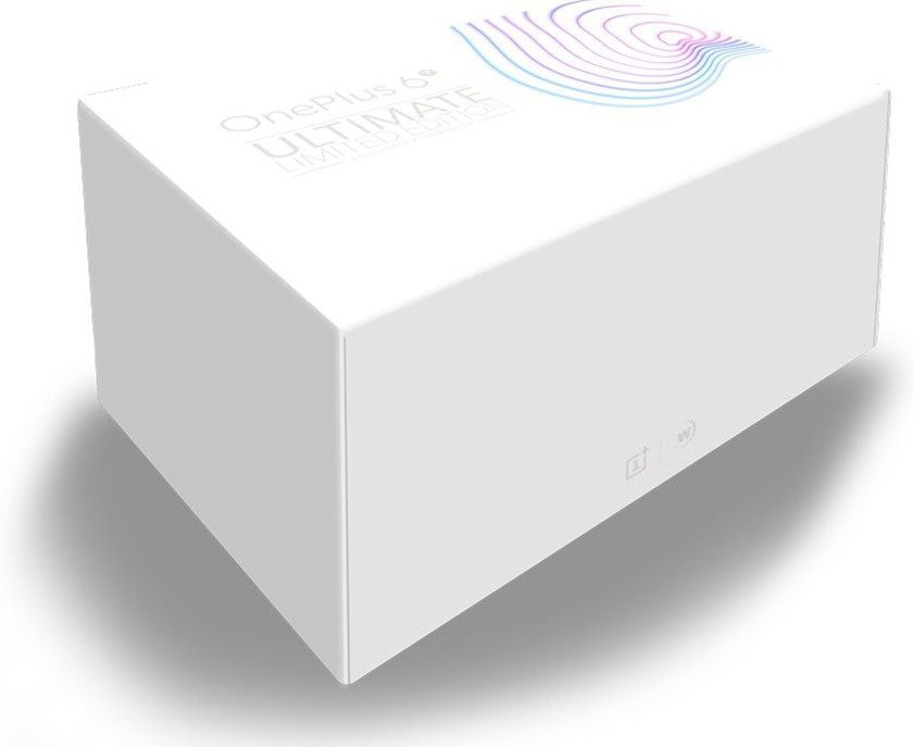 An image of the alleged OnePlus 6T Ultimate Limited Edition box set.