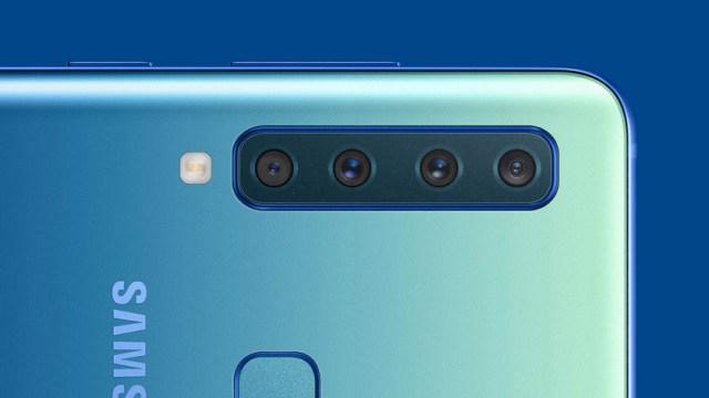 The quad-camera Samsung Galaxy A9 2018.